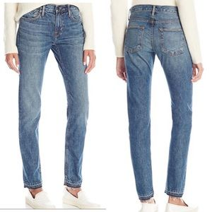 VINCE Vintage Straight-Leg Denim Talmadge Jean  27